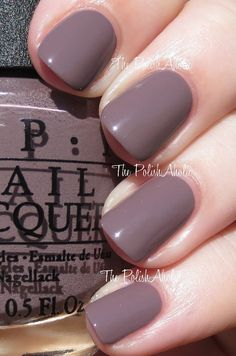 OPI Spring/Summer 2014 Brazil Collection Swatches // I Sao Paulo Over There is a brown taupe creme. The formula was good, it was a good consistency and the opacity was good. I used 2 coats for the photos below.