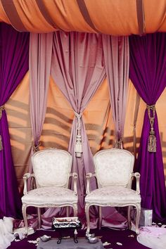 Ontario Fusion Wedding from Rowell Photography Wedding Spot, Desi Wedding, Purple Wedding, Chic Wedding, Wedding Ideas, Indian Wedding Ceremony, Moroccan Wedding, Moroccan Party, India Wedding