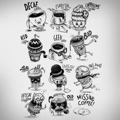"""I need more coffee"": a t-shirt design"