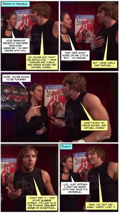 Has Dean lost his power over women? credit JenJ@forever_ambrose