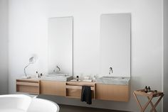 Agape Plus Vanity Unit System built in towel rail