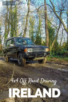 Have you ever been 4X4 off road driving before? No? Then this is an experience you should have! For example, in Ireland. Join us on this Adrenaline Fueled Day Trip | The Planet D Adventure Travel Blog