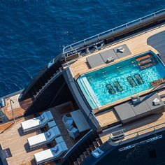 Superyacht ICON has made it as our brand new 'Charter Photo of the Week- head to the site to read the full story behind this image. #superyacht #photography #picoftheday #swimming #pool #design #style #boat #megayacht #luxurylife #yacht #sun #ocean #sea #cruise #yachting #yachtcharter