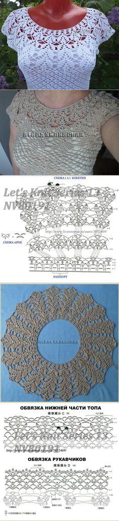 Fabulous Crochet a Little Black Crochet Dress Ideas. Georgeous Crochet a Little Black Crochet Dress Ideas. Gilet Crochet, Crochet Diy, Crochet Shirt, Crochet Collar, Crochet Woman, Crochet Cardigan, Crochet Motif, Vintage Crochet, Irish Crochet