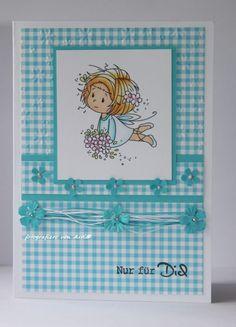 blog.karten-kunst.de - Nur für dich...Wee Stamps Flower Fairies, Karten-Kunst Kombi Set Wünsche