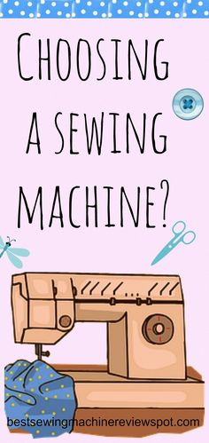 Are you looking for new sewing machine? Which one would fit you best? Read our review!  http://bestsewingmachinereviewspot.com/buying-a-sewing-machine/