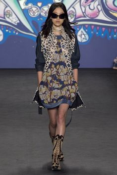 Anna Sui SPRING/SUMMER 2015 READY-TO-WEAR