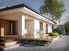 Descubra fotos de Casas modernas por Biuro Projektów MTM Styl - domywstylu.pl. Veja fotos com as melhores ideias e inspirações para criar uma casa perfeita.