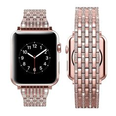 Best Apple Watch, Apple Watch Faces, Apple Watch Series 3, Apple Watch Bands Fashion, Feminine Apple Watch Bands, Apple Watch Wristbands, Simple Jewelry, Bracelet Designs, Stainless Steel Bracelet