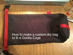 How to make a custom DIY dry bag
