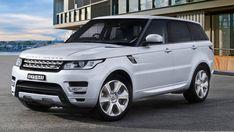 2015 White Range Rover Sport