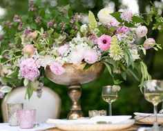 Gold Dorado Bowl, $15.00  Pink and gold metallics wedding trends  #santacruzweddingrentals #greatgatsbywedding