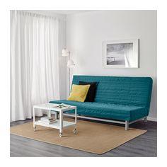 BEDDINGE LÖVÅS Sofa bed - Knisa turquoise - IKEA