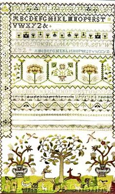 Checkout this amazing deal Paragon Reproduction Chase Sampler Cross Stitch  Embroidery Kit,$199.99