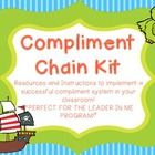 **This kit is designed for use with The Leader in Me Program.**  -This Bulletin Board Set is a fabulous way to reinforce positive behavior with you...
