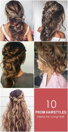 Maximum teenage girls are fond of this Prom hairstyle because of its trendy and voluminized look. Girls with long hair suit this hair style most.