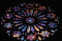Washington National Cathedral - Rose Stained Glass window