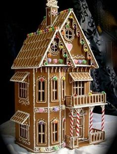 The best gingerbread houses you have ever seen - Ginger mansion - goodtoknow