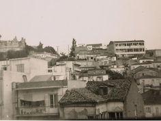 Πατρα 1973 τα σπίτια ανάμεσα Κάστρο και Καραμανδάνειο