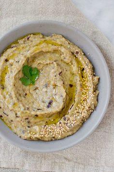 Roasted Garlic Babaganoush