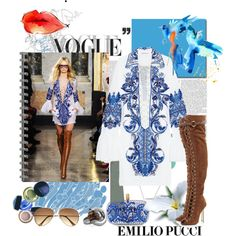 """""""Spring 2011 RTW - Emilio Pucci - Collections -"""" by lidia-solymosi on Polyvore"""