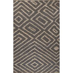 Jaipur Living Nikki Chu Naturals Tribal Pattern Gray/Taupe Area Rug