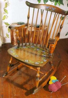 Wooden Furniture Decoration with Stencils, 15 Furniture Painting Ideas
