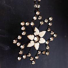 Vintage Mother Of Pearl Flower Decoration