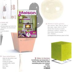 Novembre 2009 : Esprit maison présente l'humidificateur OSKAR vert