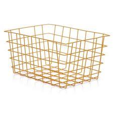 wilko wire storage basket pink home pinterest wire storage Wilkinson Wire Colours wilko wire storage basket yellow wilkinson pickups wire colours