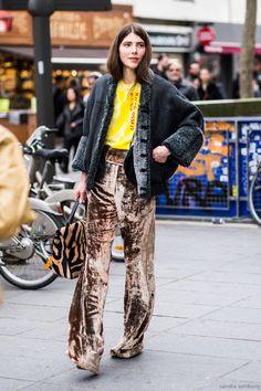 Paris Fashionweek day 6, outside Sacai, Ursina Gysi