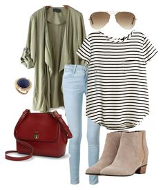 """""""Untitled #26"""" by m2415m on Polyvore featuring Frame Denim, H&M, Augusta, Ralph Lauren, Ray-Ban and Lucky Brand"""