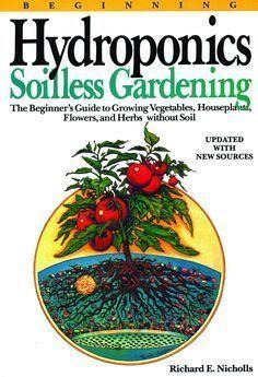 Beginning Hydroponics - Soilless Gardening #indoorherbgarden #hydroponicsdiy