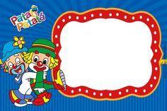 CONVITES ANIVERSÁRIO PARA IMPRIMIR - Convites Digitais Simples Mais Thankful Tree, Barbie Theme, Mickey Party, Christmas Frames, Minions, Mickey Mouse, Birthday, Clowns, Bernardo