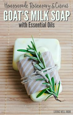 Soap-making is easier than you thought! Here's how to make homemade Rosemary…