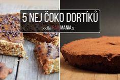 5 čokoládových koláčů