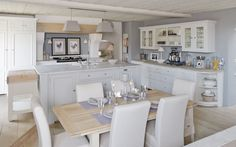 My favourite kitchen by Neptune Kitchens ....ummmm, no chicken pics though;)