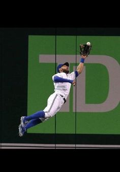 Kevin Pillar is the best outfielder I have ever seen! Kevin Pillar, Blue Jay Way, The Outfield, Toronto Blue Jays, Cubs, Raptors, Baseball, Athletes, Sports