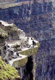 A nice walk on the cliffs of Moher ~ County Clare, Ireland
