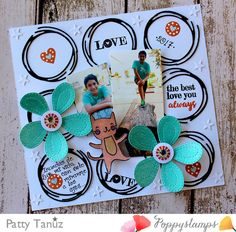 LOVE YOU ALWAYS LAYOUT with POPPYSTAMPS