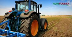 Huge tractor in the field – In a nice blue sunny day – Stock Photo , – En Güncel Araba Resimleri Farm Show, New Tractor, Feeling Fatigued, Small Farm, Old Ones, Working Area, Agriculture, Sunny Days, Fields