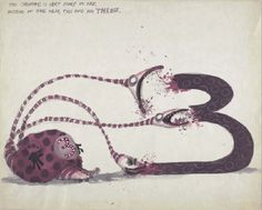 the art of Tim Burton, This creature is very scary to see, instead of one...