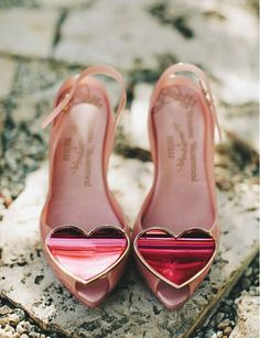 Love is all you need Vivienne Westwood Heart High Heels.