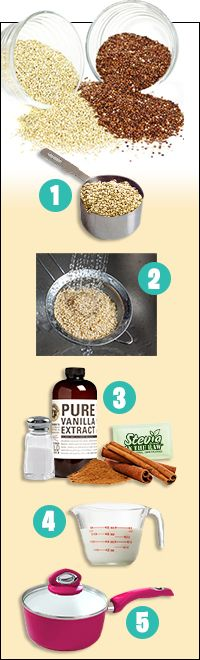 Hungry Girl: How to Cook Quinoa | easy guide for different types of quinoa dishes