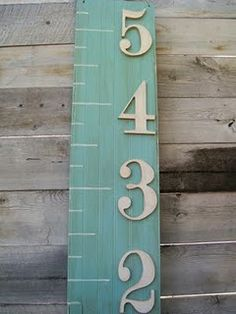 like the letters on this version | White Place Flea Market: {Morgan's Emporium}