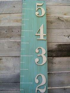 DIY height board