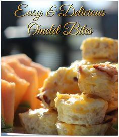 These omelet bites are so easy to make, and so delicious! I often make food for our worship team at church. Usually it's muffins and fruit, but I wanted to make something hot this time. These will be on my go-to list for making breakfast for a crowd!