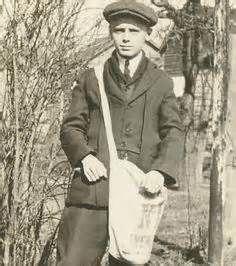1920's newspaper carrier bag - Bing Images