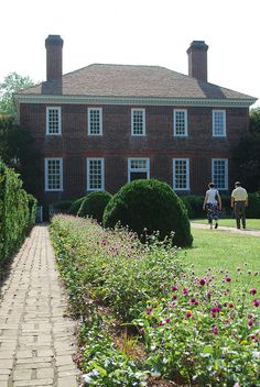 George Wythe Garden In Colonial Williamsburg
