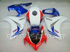 Honda CBR 1000RR 2008-2009 ABS Verkleidung - Rot/Blau/Weiß #verkleidungcbr1000rr2008 #cbr1000rrverkleidung09